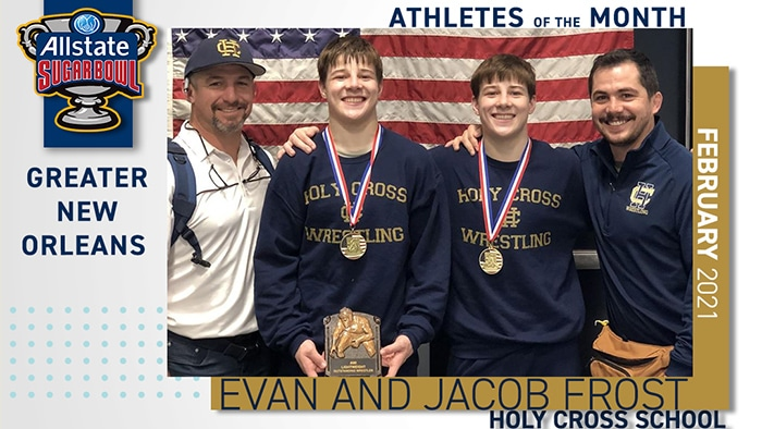 Jacob and Evan Frost honored